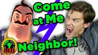 Overcoming my RAGE in this Neighbor NIGHTMARE!   Hello Neighbor (Official Release - Part 4)