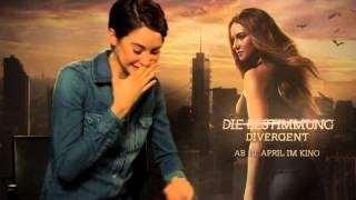 Shailene Woodley Interview DIVERGENT  INSURGENT
