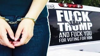 """F*ck Trump"" Truck Owner ARRESTED"