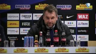 Die Pressekonferenz nach der Partie VfL Bochum 1848 - FC Würzburger Kickers