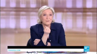 "Marine Le Pen to Emmanuel Macron: ""that"