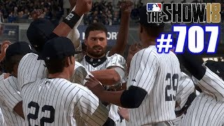 SUPER DRAMATIC WORLD SERIES ENDING!   MLB The Show 18   Road to the Show #707