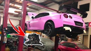 MY GTR IS IN PIECES...