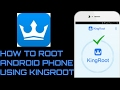 How to ROOT android phone using KINGROOT...mp3