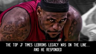 The top 3 times Lebron