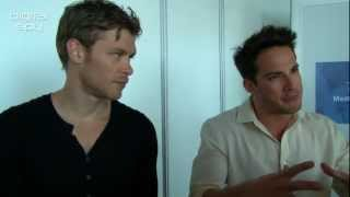 Michael Trevino & Joseph Morgan Interview in Monte Carlo 2012 - HD 720P