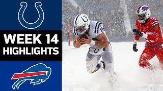 Colts vs. Bills | NFL Week 14 Game Highlights
