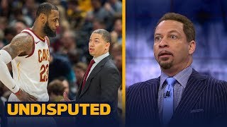 Chris Broussard reacts to Cleveland's Ty Lue taking leave of absence for health reasons   UNDISPUTED