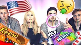 EKLIGE Süßigkeiten TESTEN! mit Marcel, ViscaBarca & Aimbrot   Sonny Loops
