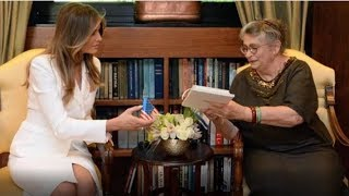 ISRAELI FIRST LADY GIVES MELANIA A SPECIAL GIFT FOR BARRON !