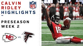 Calvin Ridley Highlights vs. Chiefs