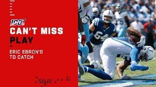 Colts Convert Big PI Call to Eric Ebron TD