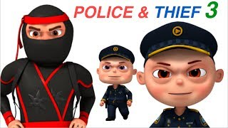 Zool Babies Police And Thief | Part 3 | Cartoon Animation For Children | Videogyan Kids Shows