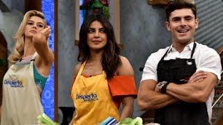 Cast of Baywatch follow instructions of a recipe in Spanish   Priyanka Chopra