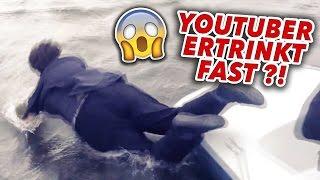 YouTuber ERTRINKT fast! (prank geht schief)