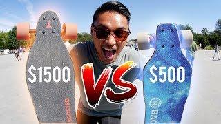 Boosted Board VS Backfire 2   Electric Skateboard Race in D.C.