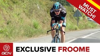 Rest Day Ride With Chris Froome & Team Sky | Vuelta A España 2014