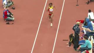 Oops! moment of a female triple jumper, Nuth Ndoumbe