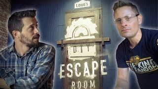 DIY Escape Room: Can They Build Their Way Out?