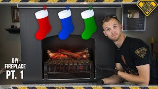 Building a Foam Fireplace (Pt. 1/2)