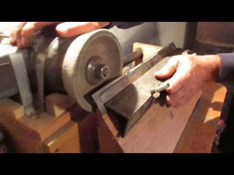Станок для заточки ножей фуганка своими руками