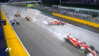 2017 Singapore Grand Prix: Race Highlights
