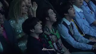 180520 NamJoon during Ariana Grande performance at Billboard Music Awards 2018