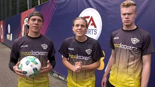 MAKING OF FIFA 18 Goals in REAL-LIFE