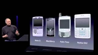 Steve Jobs announcing the first iPhone in 2007