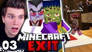 WIR BETRETEN DIE TODESVILLA! ✪ Minecraft EXIT #03   Paluten [Deutsch]