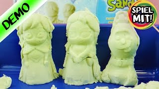 Disney FROZEN SUPER SAND   EISKÖNIGIN ELSA, Anna + Olaf aus Spiel Sand formen