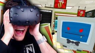 ICH WOLLTE DICH NICHT SCHLAGEN! ✪ JOB SIMULATOR Virtual Reality