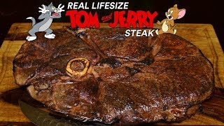 The Famous TOM and JERRY Steak! Is it AMAZING?