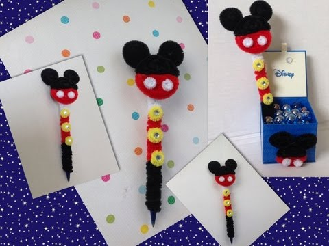 Mickey Mouse Hecho Con Foamy O Goma Eva