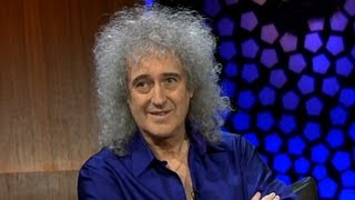 Brian May On Meeting Freddie Mercury | The Late Late Show