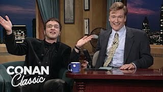 "Marc Maron On ""Late Night With Conan O'Brien"" 01/02/96"