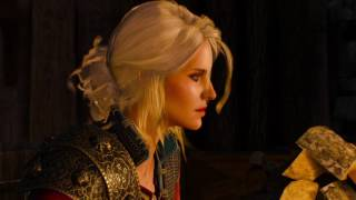 The Witcher 3: Ciri describes Cyberpunk 2077 world