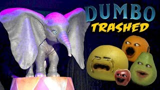 Annoying Orange - Dumbo TRAILER TRASHED!!