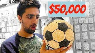 THE $50,000 DIAMOND BALL ...