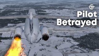 Pilot Betrayed   Terrifying Moments as Both Engines Failed After Takeoff   SAS Flight 751   4K