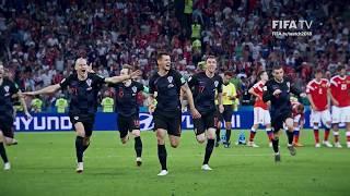 England and Croatia through to the Semi-Finals!