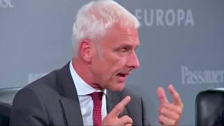 Volkswagen-Chef Matthias Müller über Tesla - VW vs. Tesla