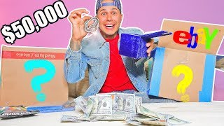 $50,000 Mystery Box From EBAY!! (YOU WON