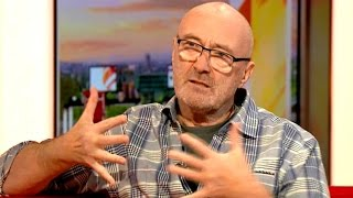 "Phil Collins: ""Don't Play Drums That Well Anymore!"""