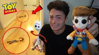 DO NOT MAKE WOODY VOODOO DOLL AT 3AM!! (FORKY HELPS ME!!)
