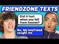 TEENS READ 10 FUNNY FRIEND ZONE TEXTS (R...
