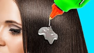 20 SIMPLE HAIR HACKS YOU