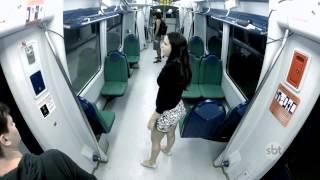 【地鐵驚魂】巴西恐怖整人節目