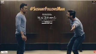 M.S.Dhoni - The Untold Story | Sushant Follows Mahi | Special Video 3