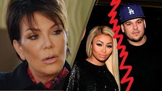 """Kris Jenner ANGRY at Rob Kardashian Over Blac Chyna Feud: """"This is a NIGHTMARE"""""""